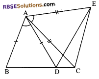 RBSE Solutions for Class 9 Maths Chapter 7 Congruence and Inequalities of Triangles Ex 7.2 12