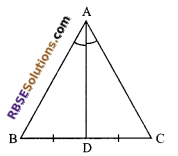 RBSE Solutions for Class 9 Maths Chapter 7 Congruence and Inequalities of Triangles Ex 7.2 4