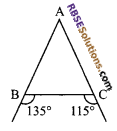 RBSE Solutions for Class 9 Maths Chapter 7 Congruence and Inequalities of Triangles Miscellaneous Exercise 1