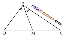 RBSE Solutions for Class 9 Maths Chapter 7 Congruence and Inequalities of Triangles Miscellaneous Exercise 12