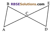 RBSE Solutions for Class 9 Maths Chapter 7 Congruence and Inequalities of Triangles Miscellaneous Exercise 16