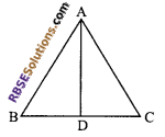 RBSE Solutions for Class 9 Maths Chapter 7 Congruence and Inequalities of Triangles Miscellaneous Exercise 17
