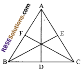 RBSE Solutions for Class 9 Maths Chapter 7 Congruence and Inequalities of Triangles Miscellaneous Exercise 18