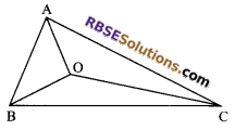 RBSE Solutions for Class 9 Maths Chapter 7 Congruence and Inequalities of Triangles Miscellaneous Exercise 19
