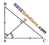 RBSE Solutions for Class 9 Maths Chapter 7 Congruence and Inequalities of Triangles Miscellaneous Exercise 3