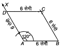 RBSE Solutions for Class 9 Maths Chapter 9 चतुर्भुज Miscellaneous Exercise Q41.1