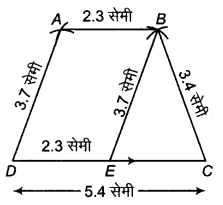 RBSE Solutions for Class 9 Maths Chapter 9 चतुर्भुज Miscellaneous Exercise Q42.1