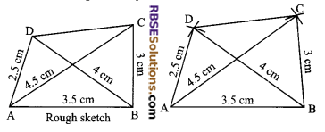 RBSE Solutions for Class 9 Maths Chapter 9 Quadrilaterals Ex 9.3 4