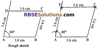 RBSE Solutions for Class 9 Maths Chapter 9 Quadrilaterals Miscellaneous Exercise 17