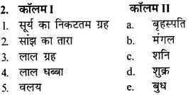 RBSE Solutions for Class 9 Science Chapter 12 आकाशीय पिण्ड एवं भारतीय पंचांग 2