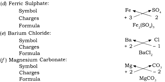 RBSE Solutions for Class 9 Science Chapter 4 Chemical Bond and Chemical Equation 3