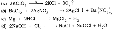 RBSE Solutions for Class 9 Science Chapter 4 Chemical Bond and Chemical Equation 5