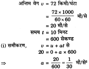 RBSE Solutions for Class 9 Science Chapter 9 बल और गति 3