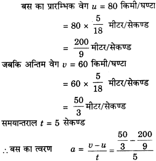 RBSE Solutions for Class 9 Science Chapter 9 बल और गति 40