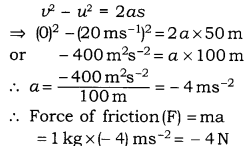 RBSE Solutions for Class 9 Science Chapter 9 Force and Motion 21