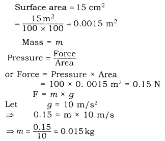 RBSE Solutions for Class 9 Science Chapter 9 Force and Motion 25