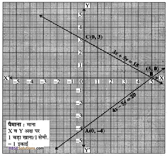 Rajasthan Board RBSE Class 10 Maths Chapter 4 दो चरों वाले रैखिक समीकरण एवं असमिकाएँ Ex 4.1 17