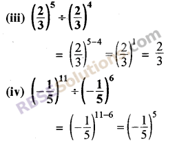 Rajasthan Board RBSE Class 8 Maths Chapter 3 Powers and Exponents Ex 3.1 14
