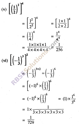 Rajasthan Board RBSE Class 8 Maths Chapter 3 Powers and Exponents Ex 3.1 16