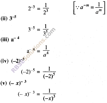 Rajasthan Board RBSE Class 8 Maths Chapter 3 Powers and Exponents Ex 3.1 18