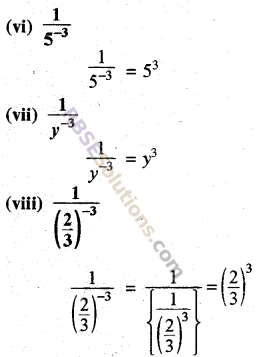 Rajasthan Board RBSE Class 8 Maths Chapter 3 Powers and Exponents Ex 3.1 19