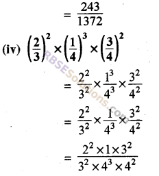 Rajasthan Board RBSE Class 8 Maths Chapter 3 Powers and Exponents Ex 3.1 23