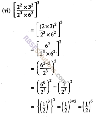 Rajasthan Board RBSE Class 8 Maths Chapter 3 Powers and Exponents Ex 3.1 25