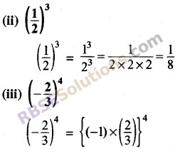 Rajasthan Board RBSE Class 8 Maths Chapter 3 Powers and Exponents Ex 3.1 5