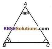 RBSE Solutions for Class 9 Maths Chapter 7 त्रिभुजों की सर्वांगसमता एवं असमिकाएँ Miscellaneous Exercise 12