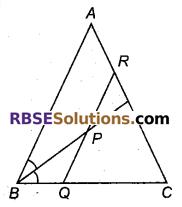 RBSE Solutions for Class 9 Maths Chapter 7 त्रिभुजों की सर्वांगसमता एवं असमिकाएँ Miscellaneous Exercise 13