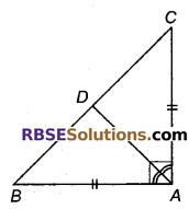 RBSE Solutions for Class 9 Maths Chapter 7 त्रिभुजों की सर्वांगसमता एवं असमिकाएँ Miscellaneous Exercise 14