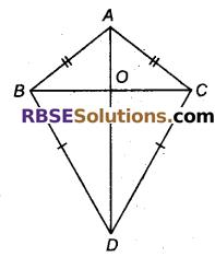 RBSE Solutions for Class 9 Maths Chapter 7 त्रिभुजों की सर्वांगसमता एवं असमिकाएँ Miscellaneous Exercise 15