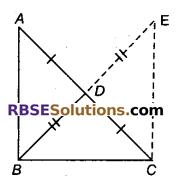 RBSE Solutions for Class 9 Maths Chapter 7 त्रिभुजों की सर्वांगसमता एवं असमिकाएँ Miscellaneous Exercise 19