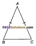 RBSE Solutions for Class 9 Maths Chapter 7 त्रिभुजों की सर्वांगसमता एवं असमिकाएँ Miscellaneous Exercise 2