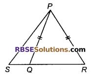 RBSE Solutions for Class 9 Maths Chapter 7 त्रिभुजों की सर्वांगसमता एवं असमिकाएँ Miscellaneous Exercise 23