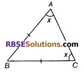RBSE Solutions for Class 9 Maths Chapter 7 त्रिभुजों की सर्वांगसमता एवं असमिकाएँ Miscellaneous Exercise 3