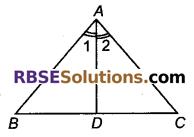 RBSE Solutions for Class 9 Maths Chapter 7 त्रिभुजों की सर्वांगसमता एवं असमिकाएँ Miscellaneous Exercise 34