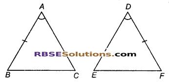 RBSE Solutions for Class 9 Maths Chapter 7 त्रिभुजों की सर्वांगसमता एवं असमिकाएँ Miscellaneous Exercise 8